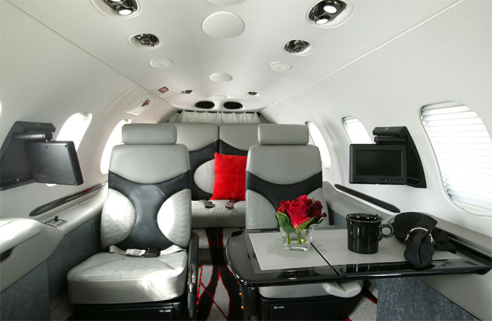 Learjet Interiors