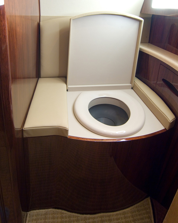 G-200 Lavatory Toilet Modification | West Star Aviation