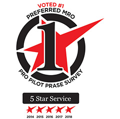 West Star Aviation was voted number 1 fbo 2018