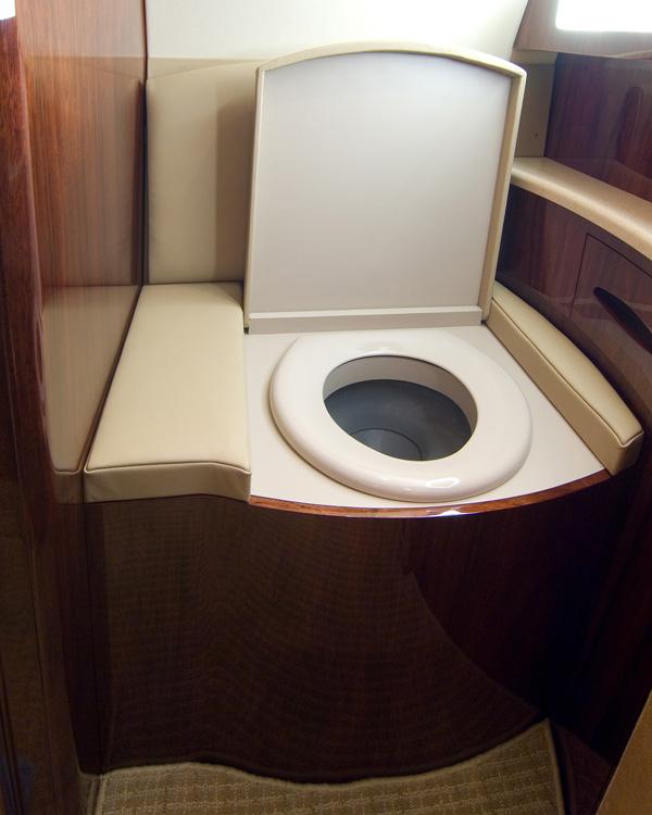 G 200 Lavatory Toilet Modification West Star Aviation