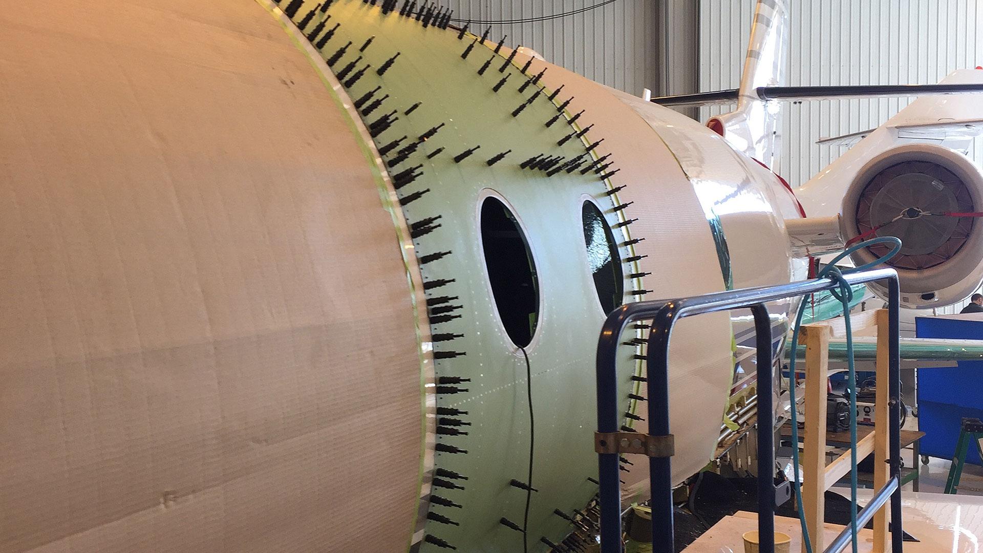 Gulfstream G200 Major Repair
