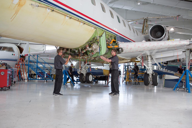 Embraer 650-WSA Maintenance