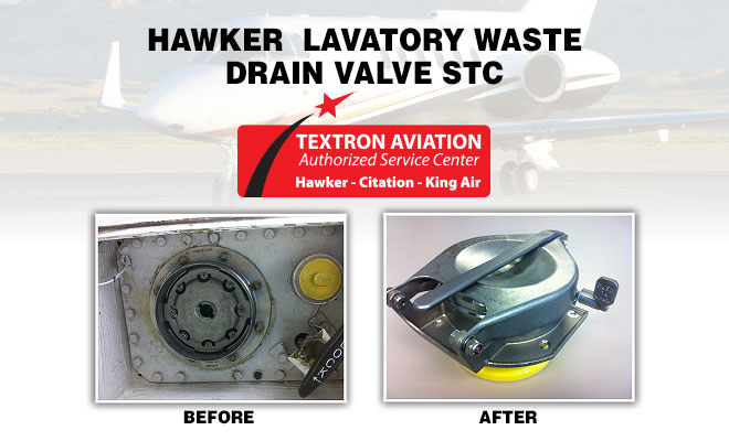 West Star Hawker Lavatory Waste Drain Valve STC