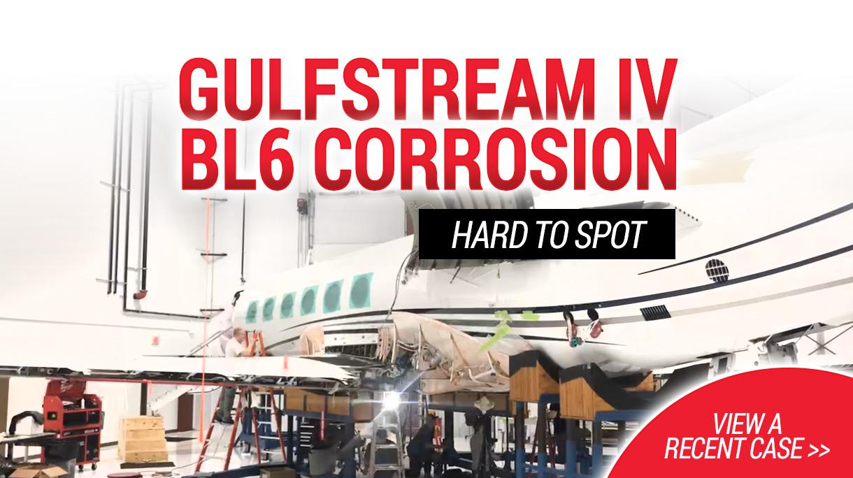 Gulfstream IV BL6 Corrosion