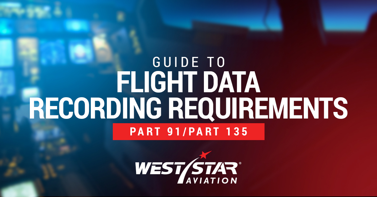 Flight Data Recording Requirements for Part 91 and 135 Aircraft
