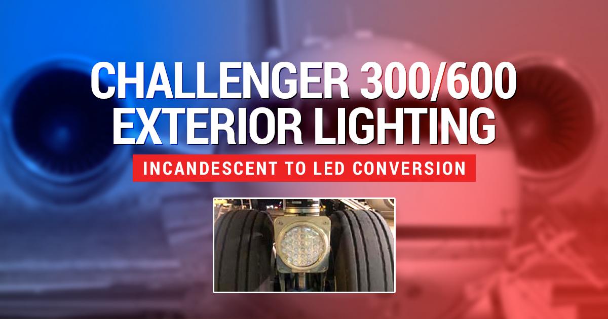 Challenger 300/600 Exterior Lighting