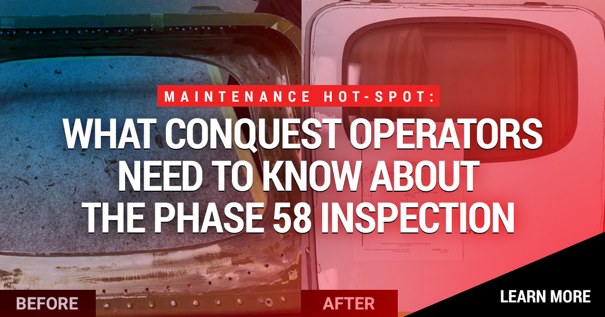 Conquest Operators & The Phase 58 Inspection