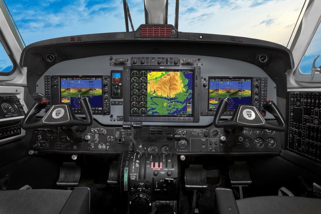 Beechcraft 1900: Garmin G950 Upgrade - After