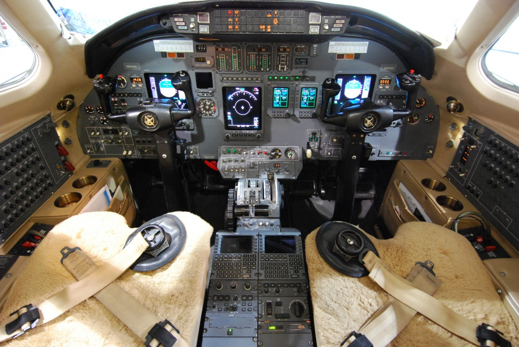 Citation 560: Garmin G5000 Upgrade with Autopilot - Before