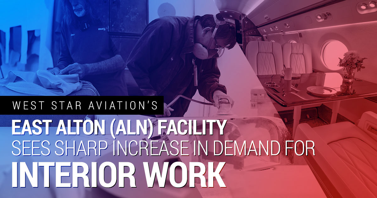 East Alton (ALN) Facility Sees Sharp Increase In Demand For Interior Work